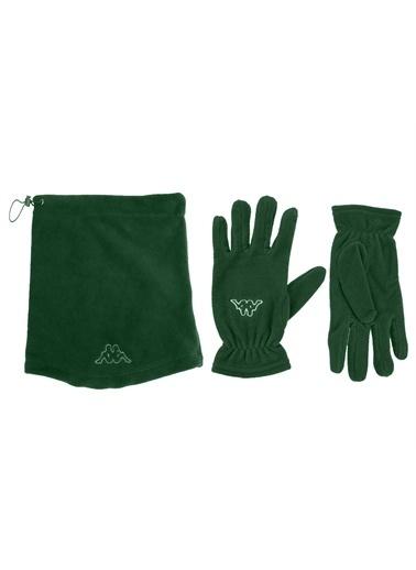 Kappa Polar Boyunluk Eldiven Takım Turen Yeşil